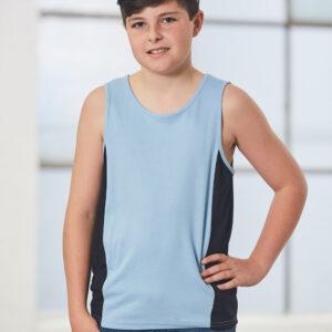 TS19K TEAMMATE SINGLET Kids 7     Promotion Wear