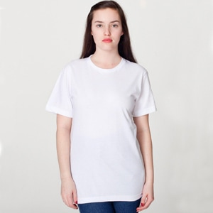 2001ORGW - Unisex Organic Fine Jersey Short Sleeve T-Shirt