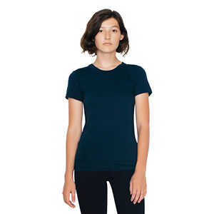 2102W - Women's Fine Jersey Short Sleeve T-Shirt
