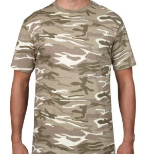 939 Adult Midweight Camouflage Tee