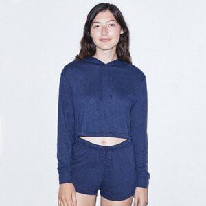 RSATR3353W - Women's Tri-Blend Cropped Hoodie