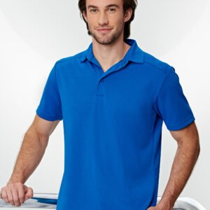 PS87 - Mens Bamboo Charcoal Corporate Short Sleeve Polo - PS87