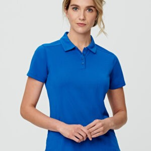 PS88 - Ladies Bamboo Charcoal Corporate Short Sleeve Polo