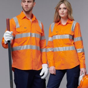 SW55 - Unisex Biomotion Vic Rail Light Weight Safety Shirt
