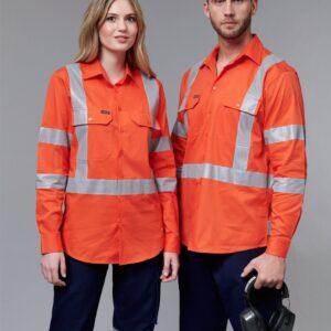 SW66 - Unisex Biomotion NSW Rail Safety Shirt
