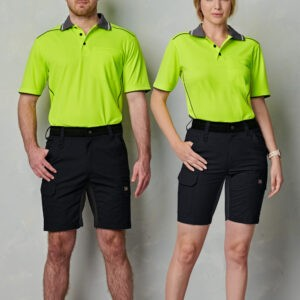 WP25 - Unisex Ripstop Stretch Work Shorts